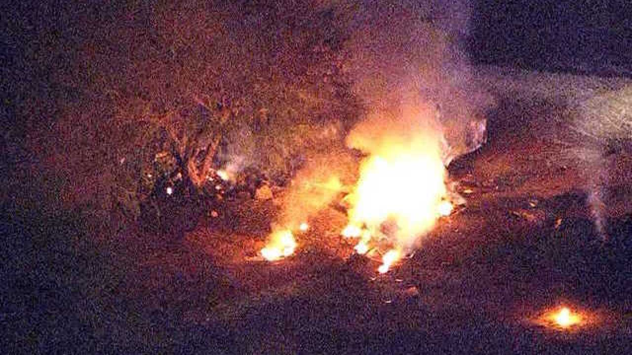 Plane crashes after takeoff from Scottsdale