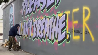 BLM supporters resilient in the face of hate, as murals across the country are vandalized