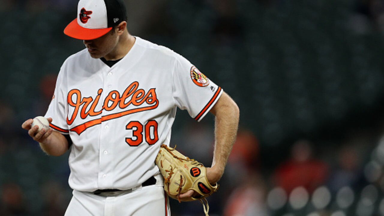 AP: Tillman, Orioles agree to $3M, 1-year deal