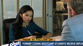 Coding bootcamp students receive refunds after Team 10 story