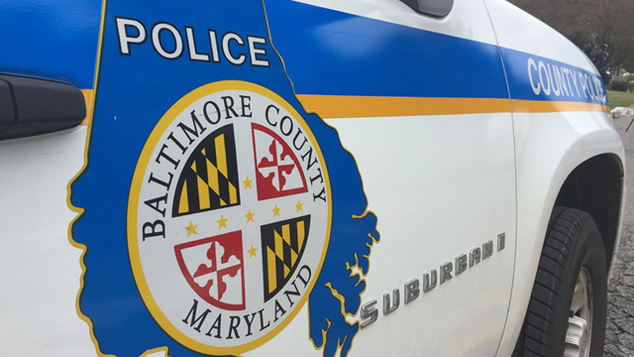 Baltimore County Police investigate Saturday morning shooting