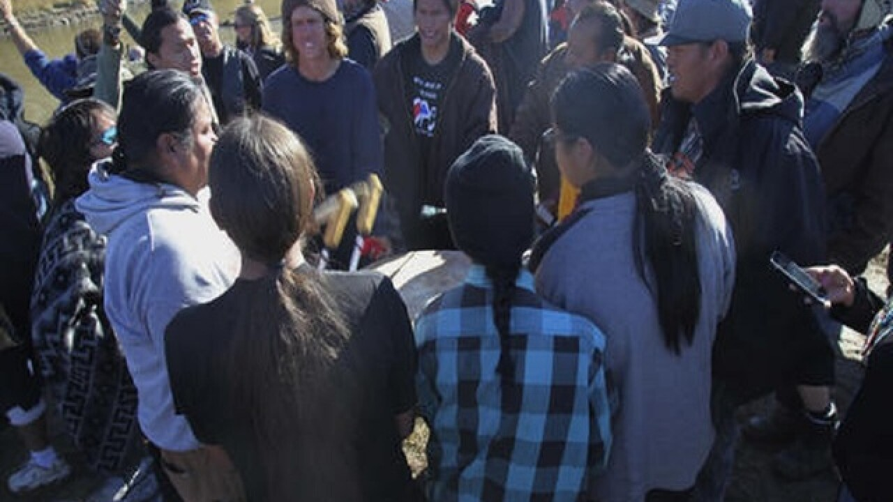 Pipeline company could face fines; protesters pepper-sprayed