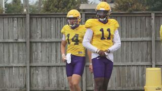Max Johnson TJ Finley LSU Football