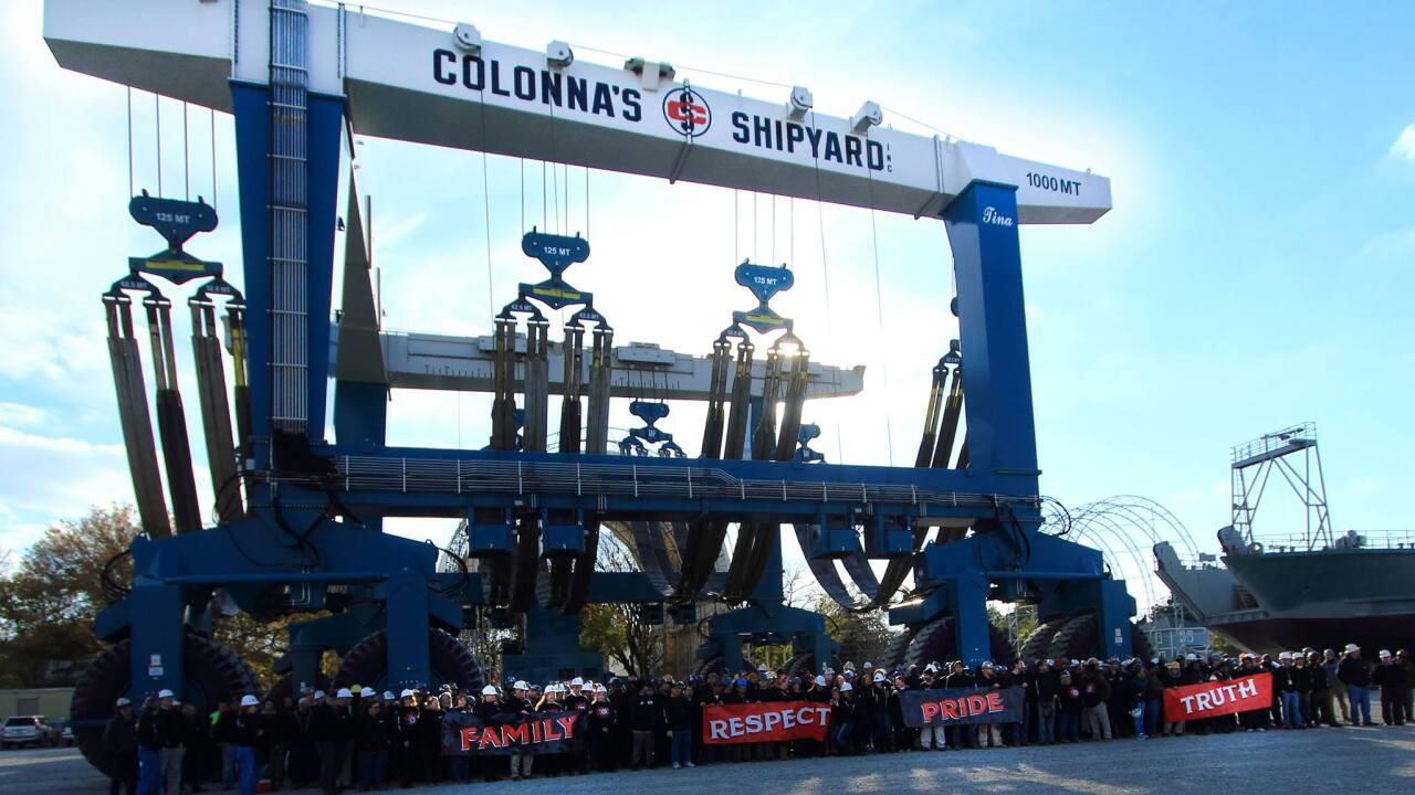 $30 million expansion announced for Colonna's Shipyard