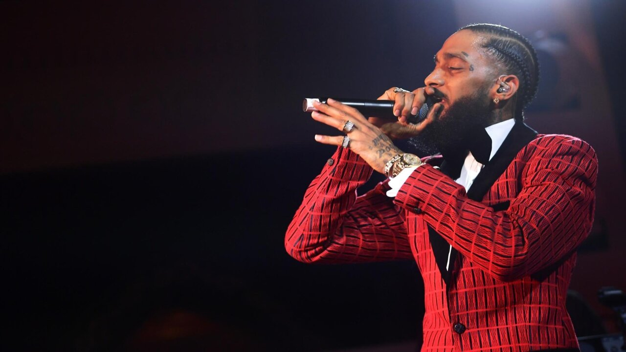 Nipsey Hussle funeral service draws thousands