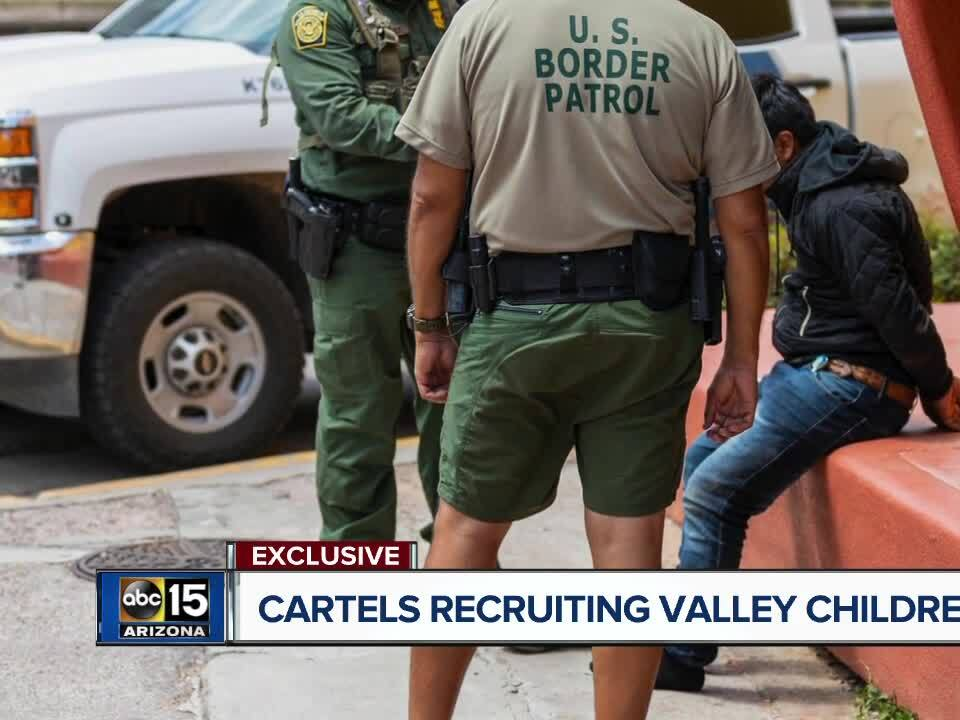 Drug cartels recruiting Valley children as young as 11 for smuggling, officials warn