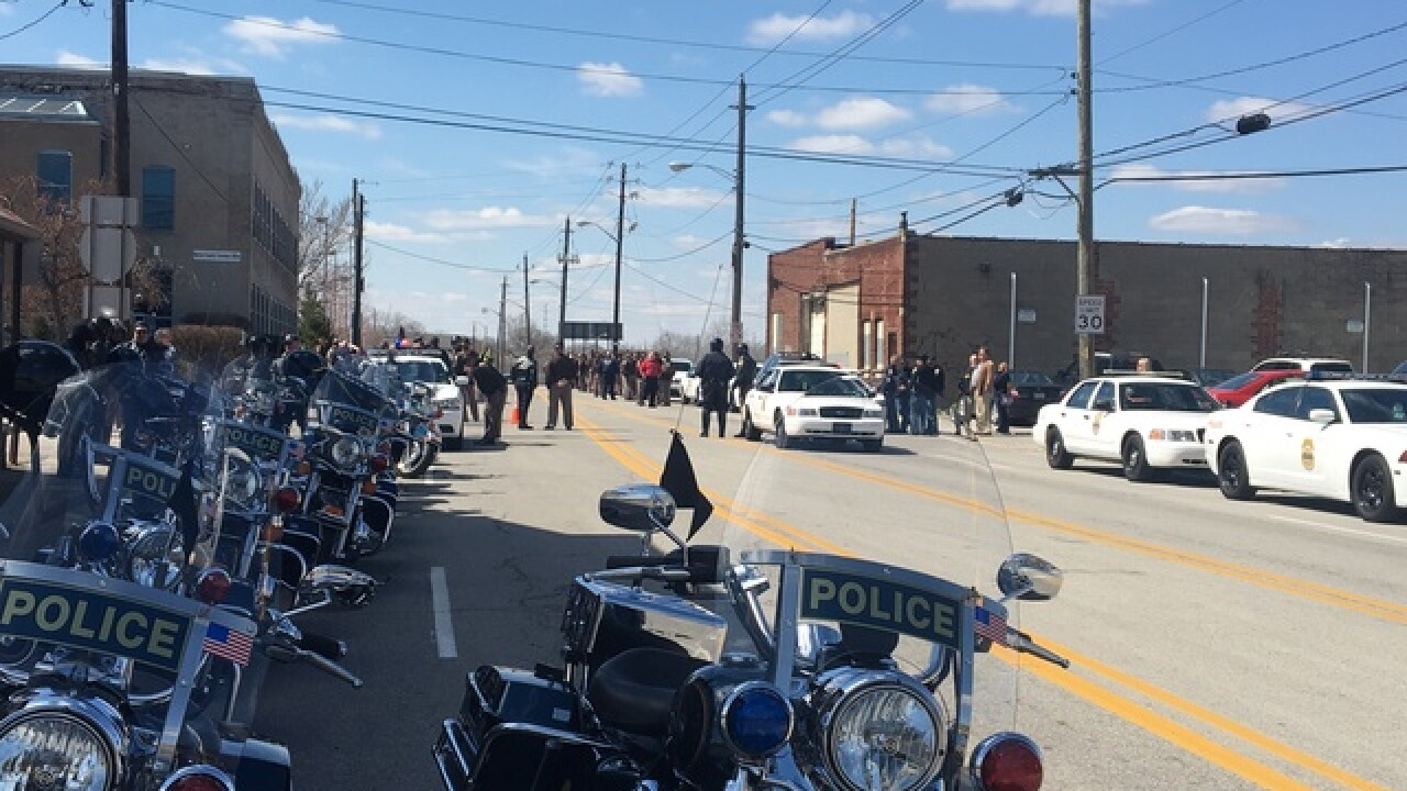 PHOTOS:  Dep. Carl Koontz memorial & procession