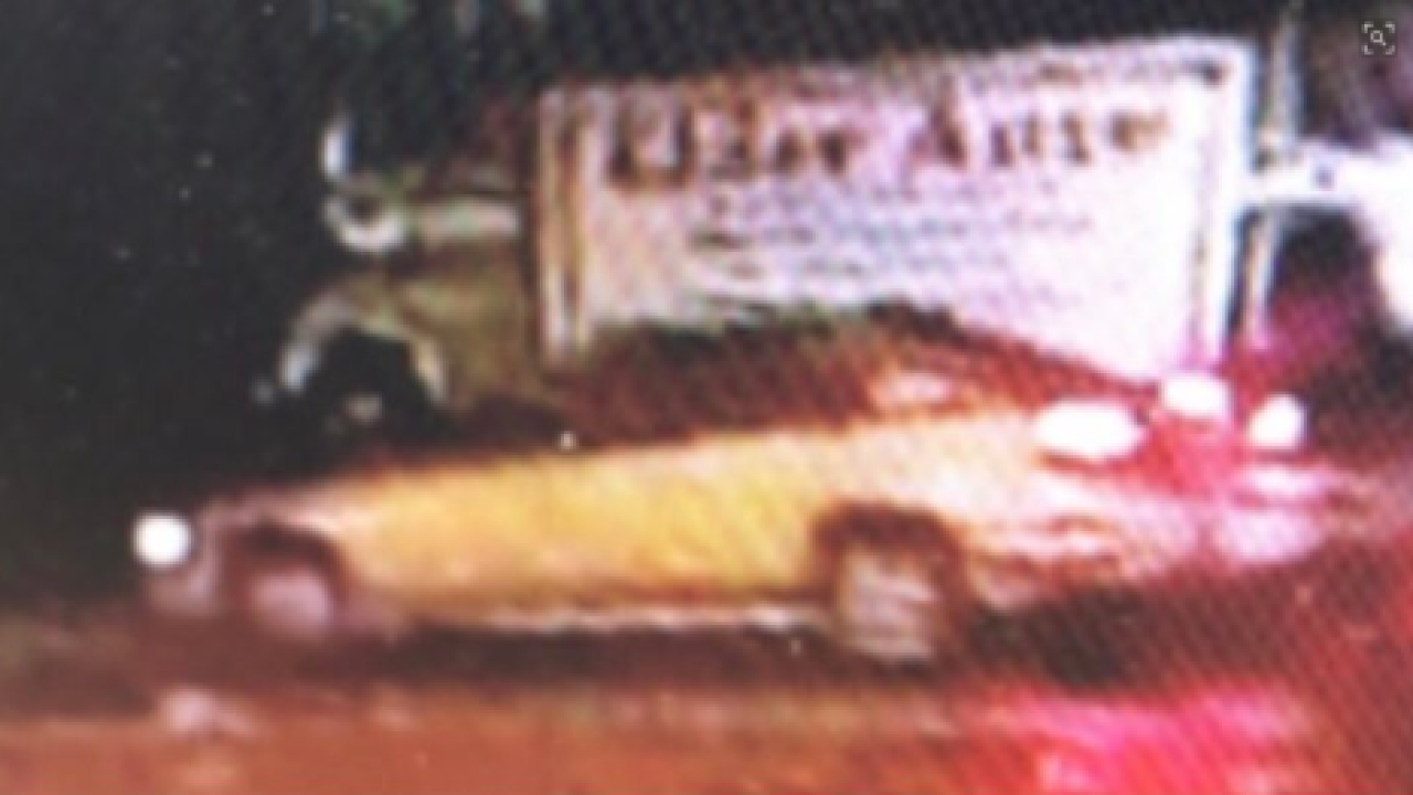 Suspect vehicle in May 1, 2019 Denver hit and run