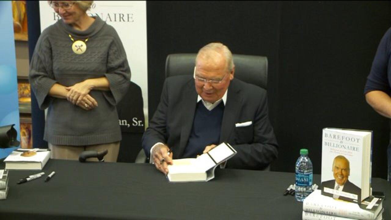 Jon Huntsman Senior's new book details his journey from 'Barefoot to Billionaire'