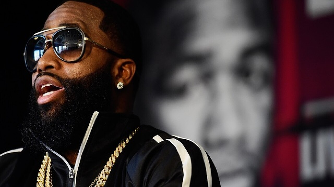 Adrien Broner safe after making apparent suicide threats