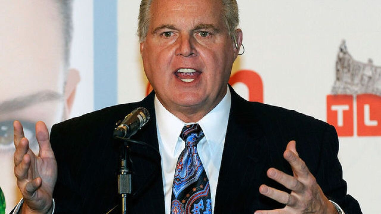 Limbaugh on the news media: 'They're enemies of Trump'