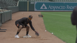 Orioles workouts