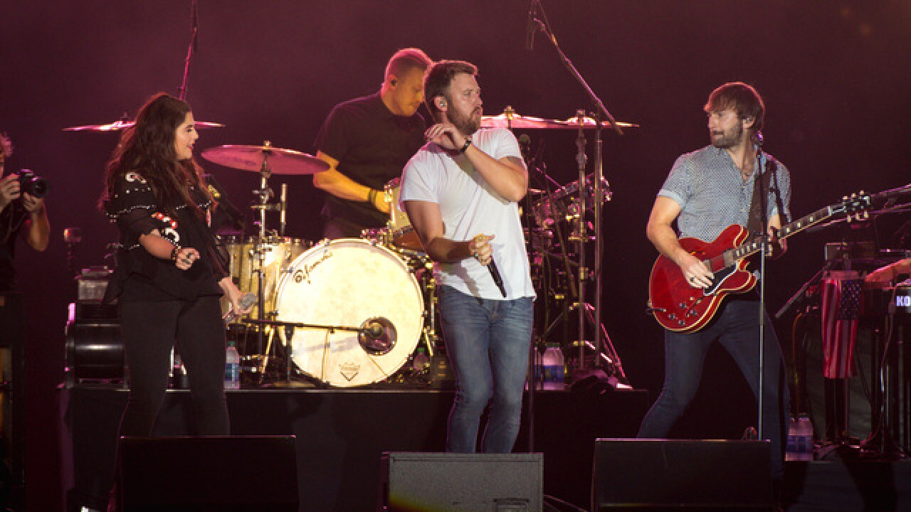 'No bag policy' in effect for Lady Antebellum & Darius Rucker concert this Friday