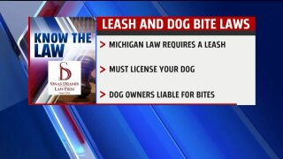 Know the Law – Michigan Leash and Dog BiteLaws