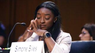 Senate Judiciary Simone Biles