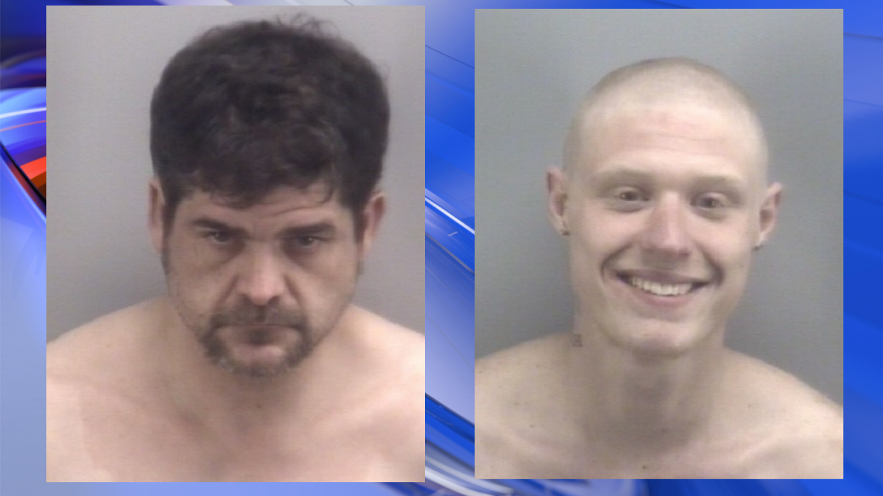 Virginia Beach Police charge two men after standoff, traffic stop