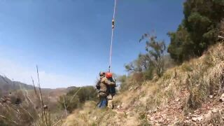 BORSTAR agents rescued a Guatemalan woman from the mountains in southern Arizona.