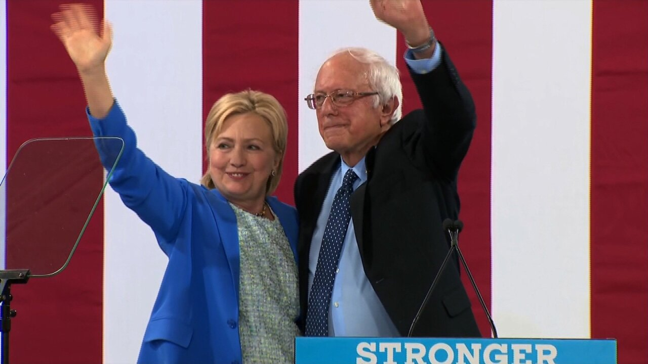 Sanders responds to Clinton's accusation: 'I'm sorry that Hillary Clinton is rerunning 2016'