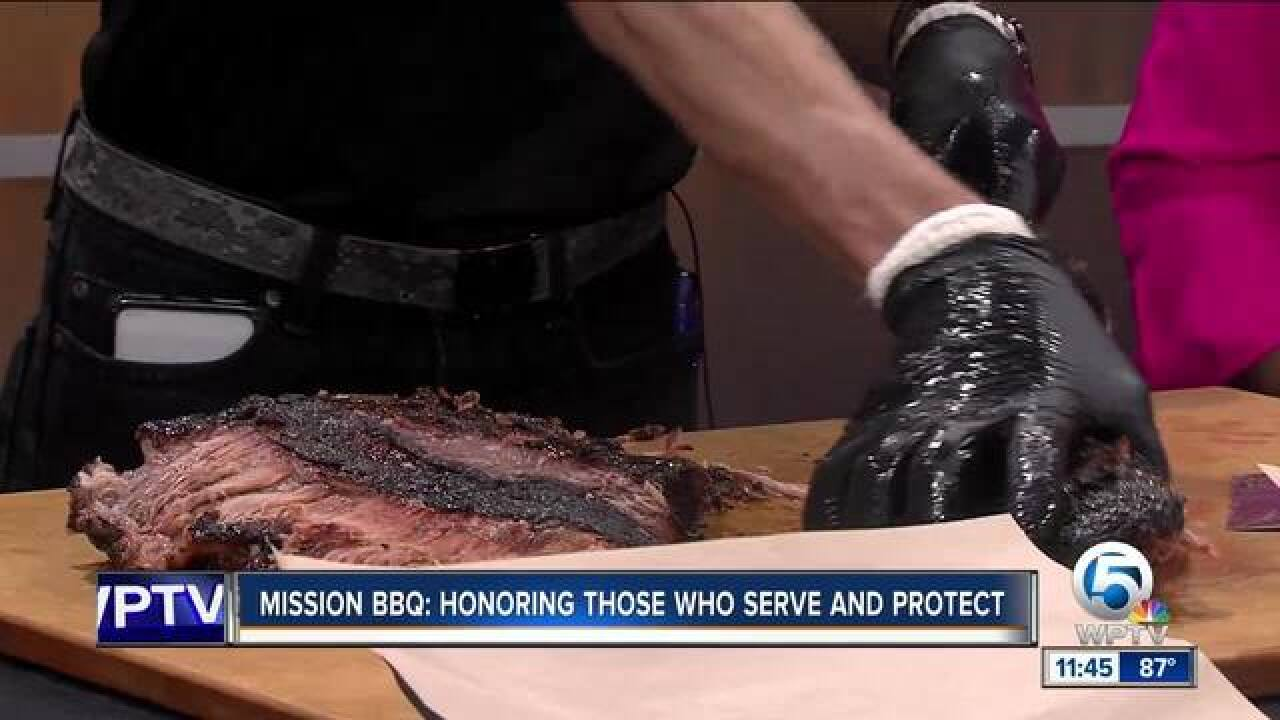 Mission BBQ honors military, first responders