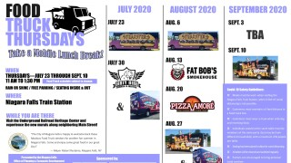 Food Truck Thursdays in Niagara Falls are back!