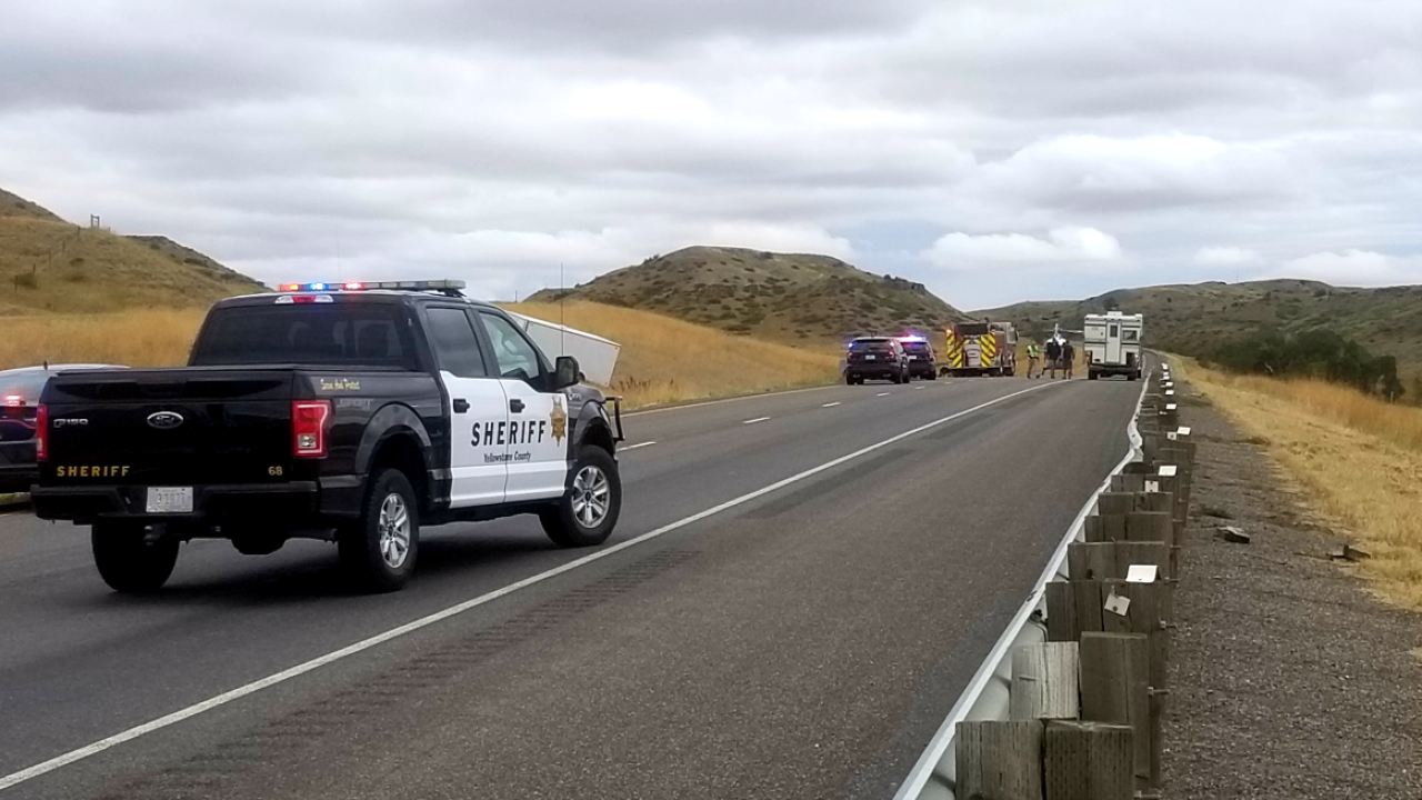 I90 crash victim near Billings ID'd as California man