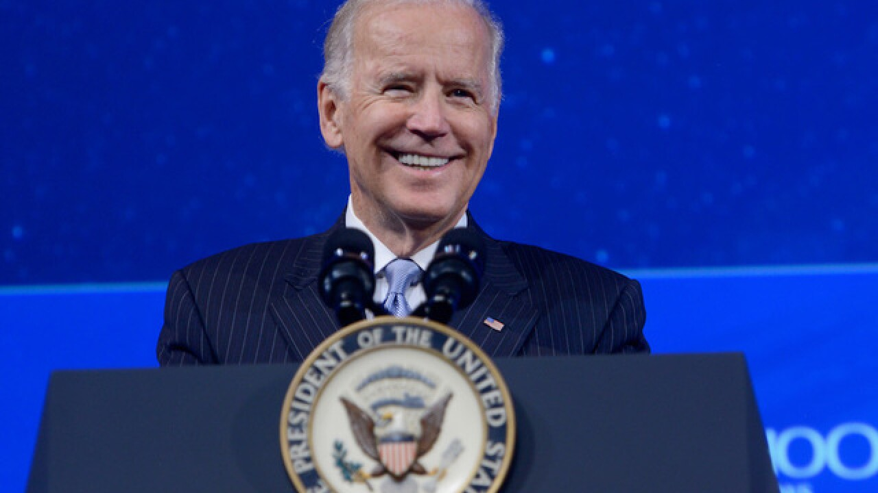 Joe Biden says he isn't a candidate for the 2020 presidential election — 'at this point'