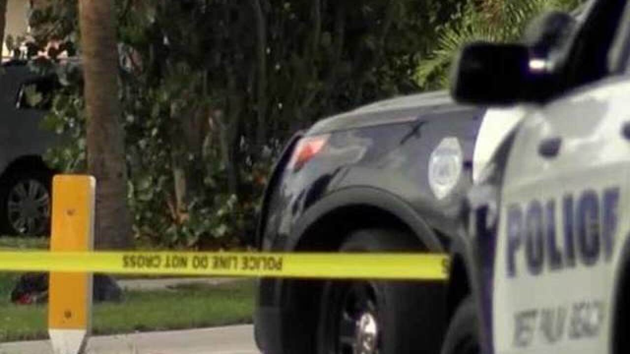 1 shot during suspected road-rage incident in West Palm Beach