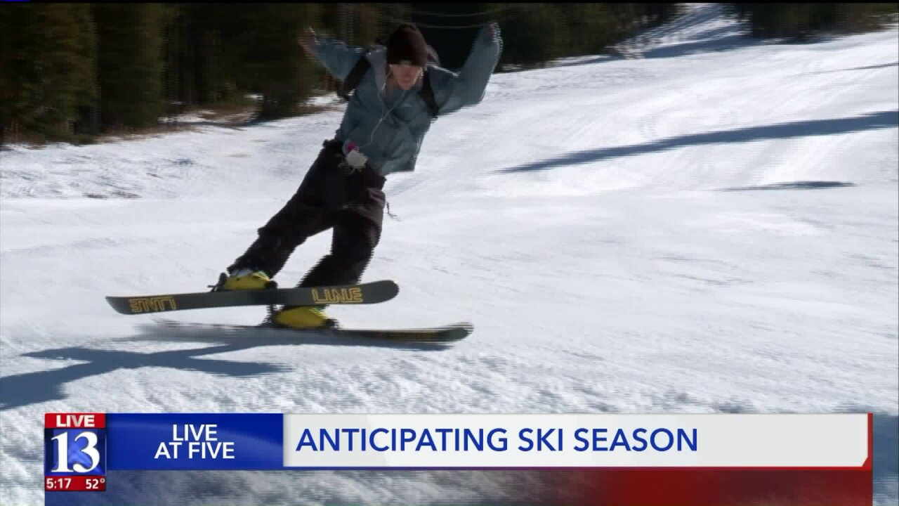 'It's like day 10 of the season;' Some people out on the slopes before resortsopen