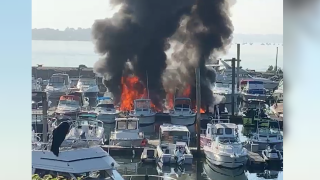 bronx boat fire