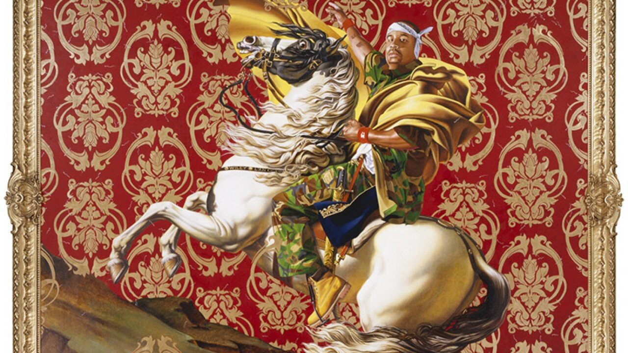 World-renowned artist Kehinde Wiley debuts massive sculpture to be installed at the Virginia Museum of Fine Arts