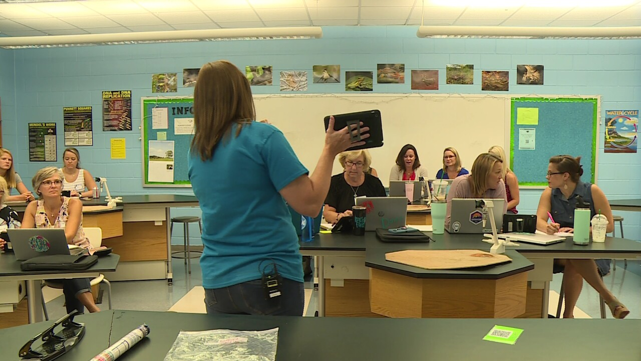 How Hanover is 'inspiring' teachers to greatness this school year