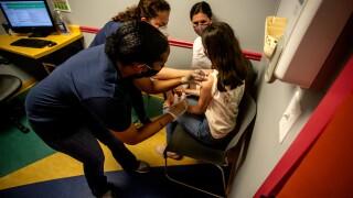 US Virus Child Vaccinations