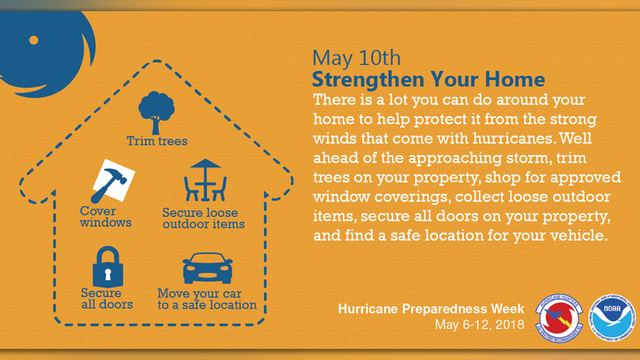 Prepare your home to withstand a hurricane