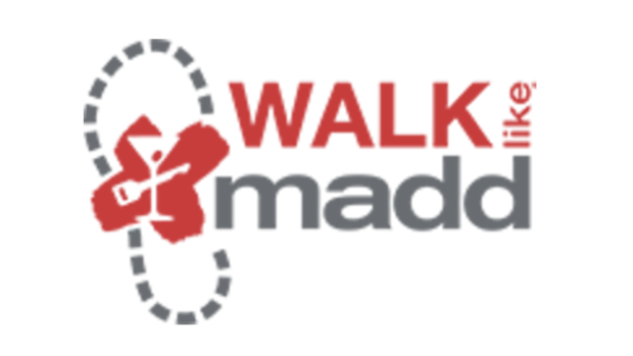 Walk like MADD & MADD Dash happening Saturday at the Park at Riverwalk