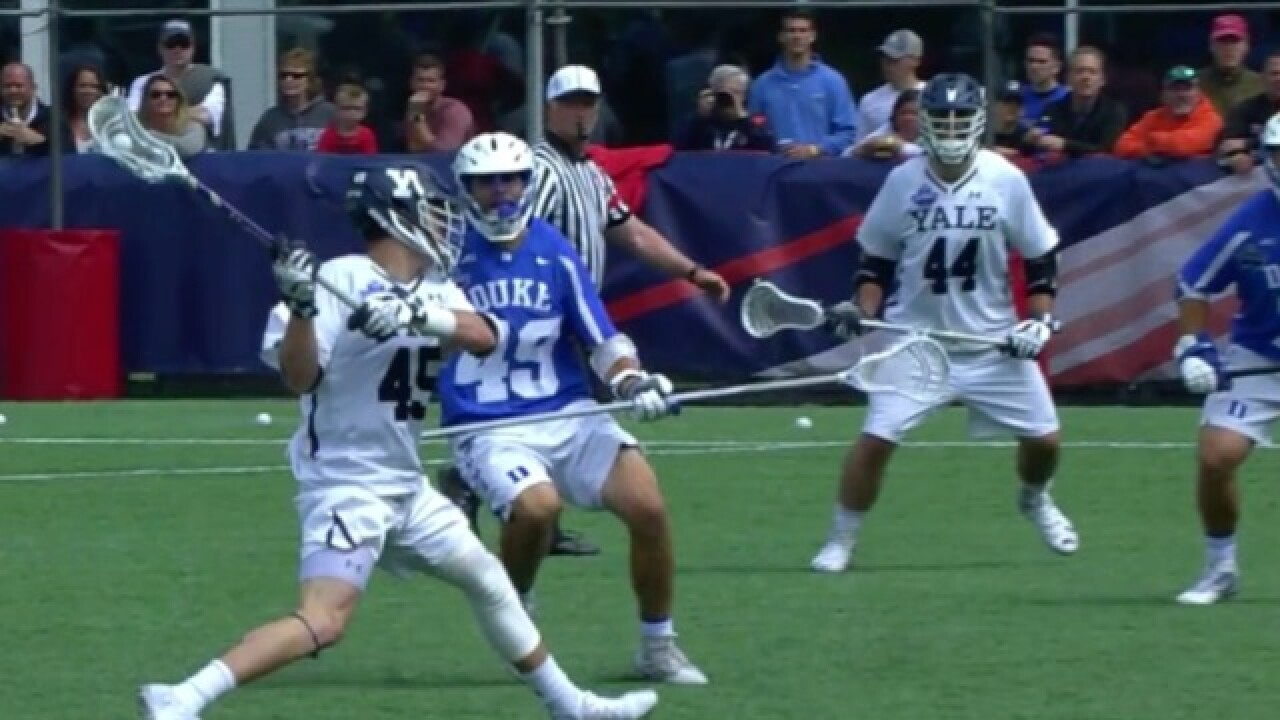 Brother Rice's Jason Alessi scores game-winner in Yale's first lacrosse national title win