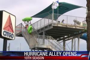 Hurricane Alley waterpark open