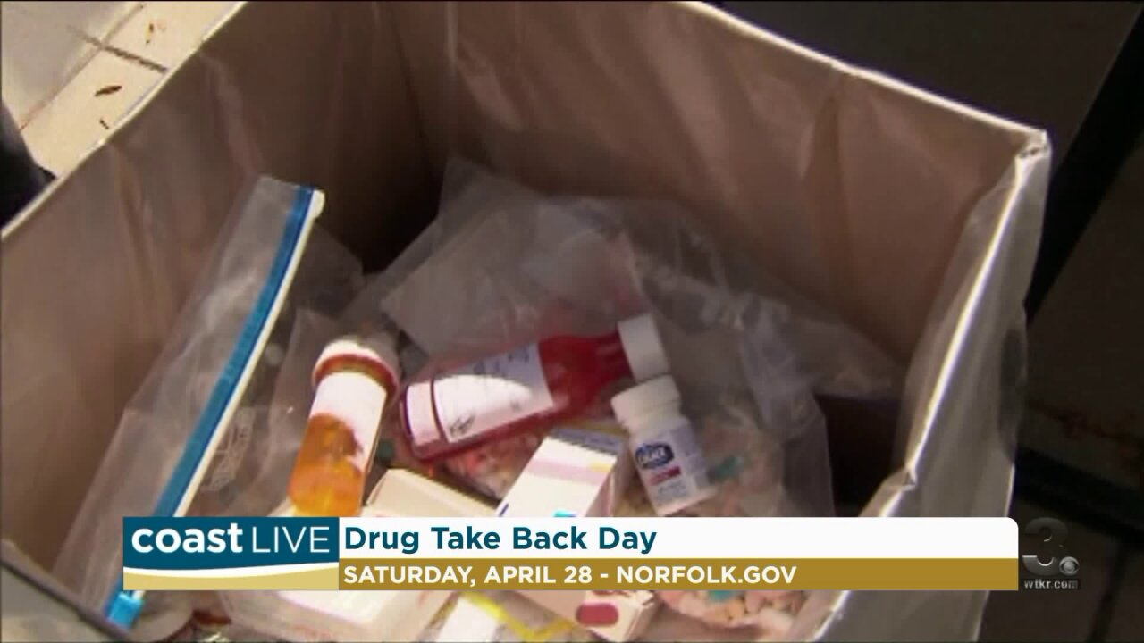 How Norfolk is getting our old medications off the streets on Coast Live
