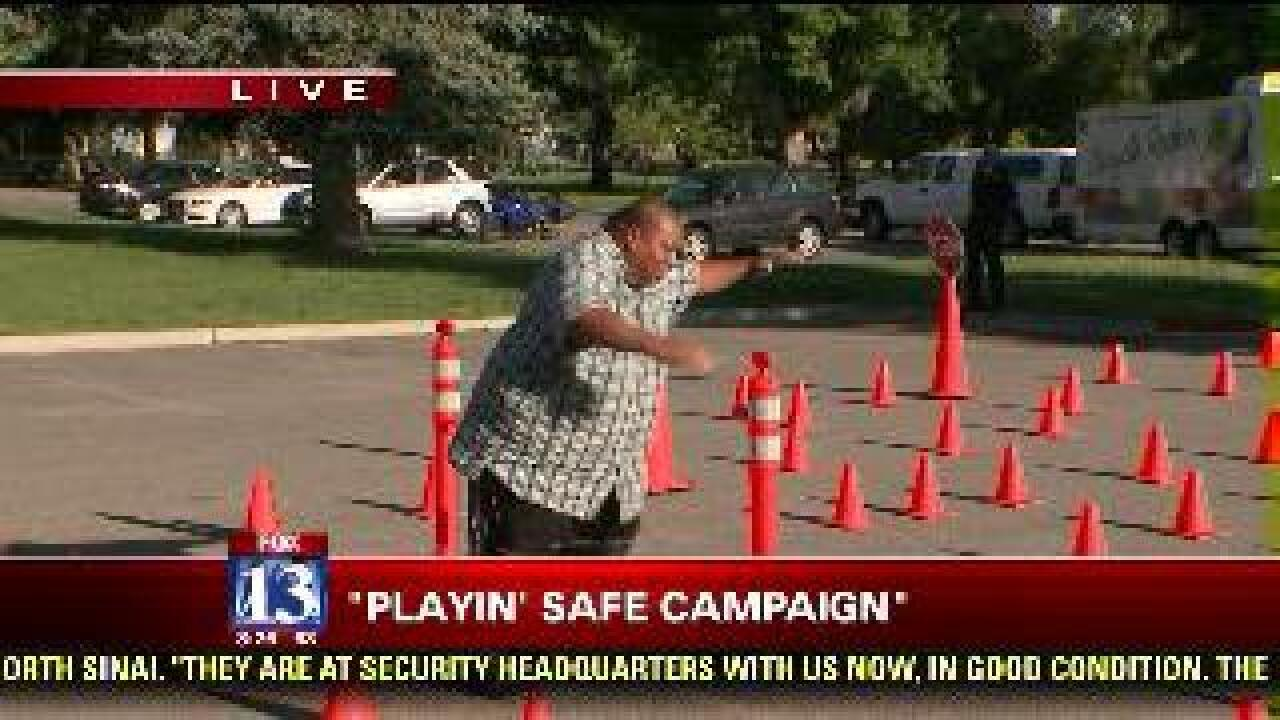 'Playin' Safe' campaign with Budah