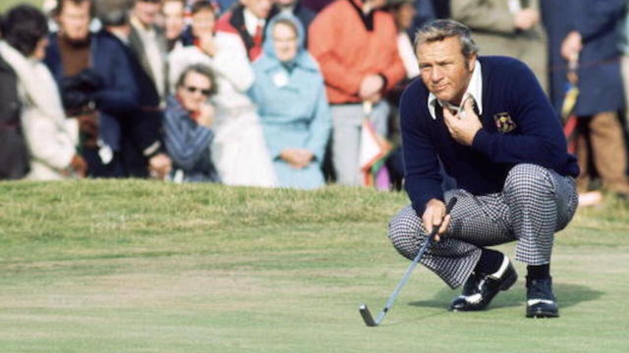 Arnold Palmer, golfing legend, dies at 87