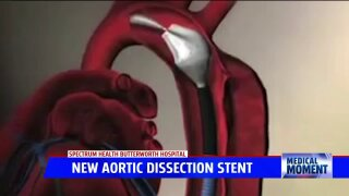 Medical Moment: New Aortic Dissection Procedure at Spectrum Health