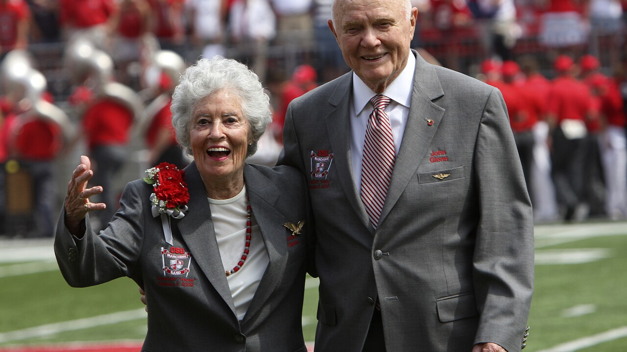 Annie Glenn, widow of former astronaut and Sen. John Glenn, dies at 100