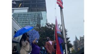 Pride flag raised at Richmond City Hall for first time