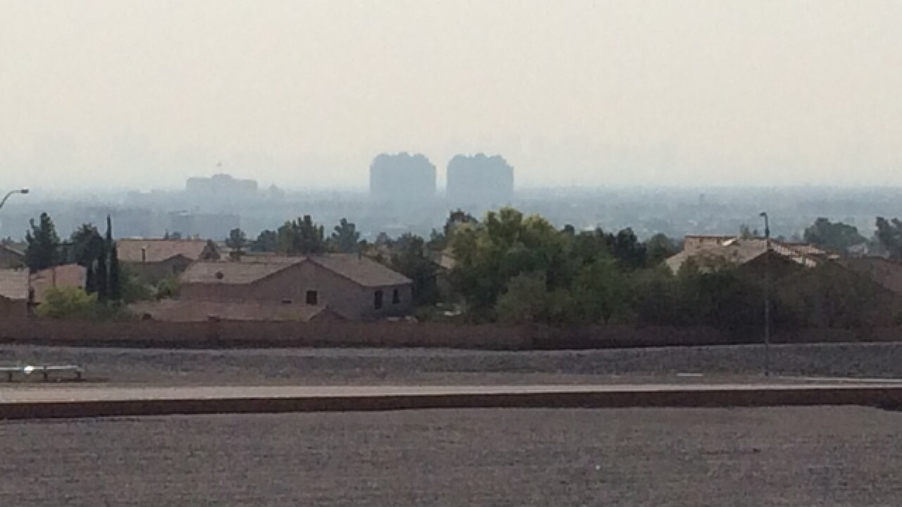 Air quality advisory issued due to Calif. smoke