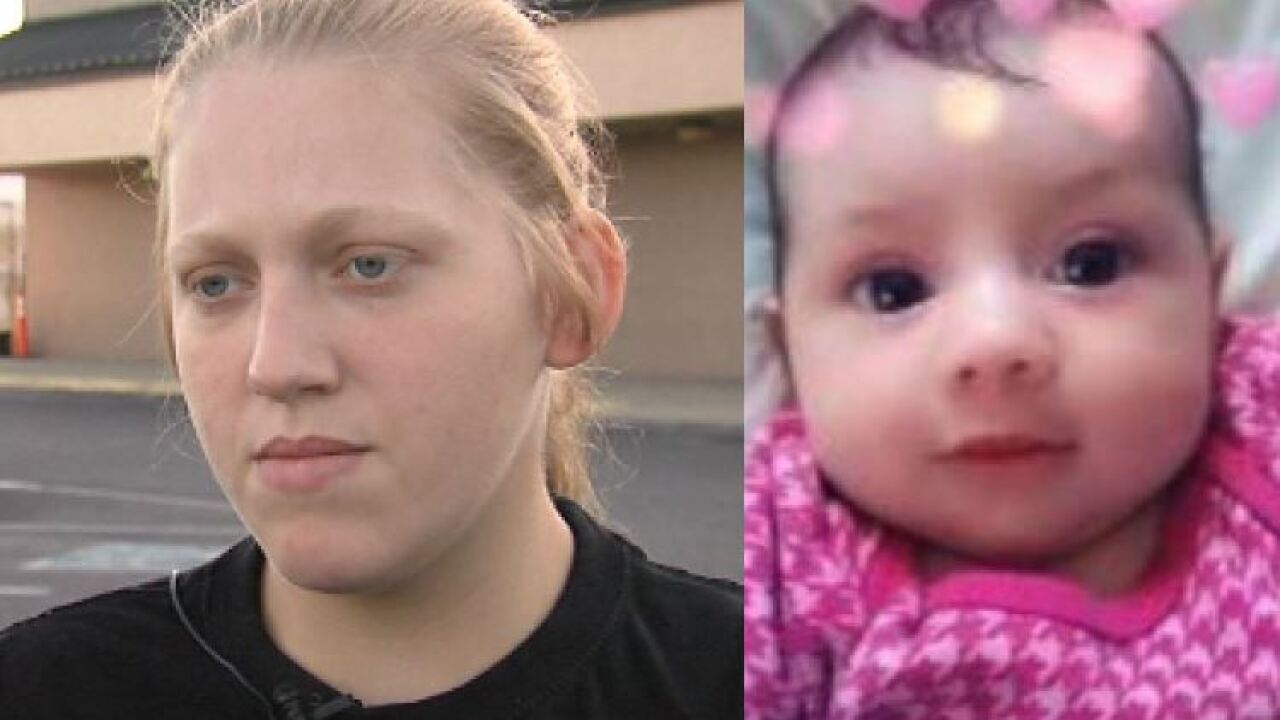 Mother of missing Indiana baby says she'll continue search for daughter despite threats