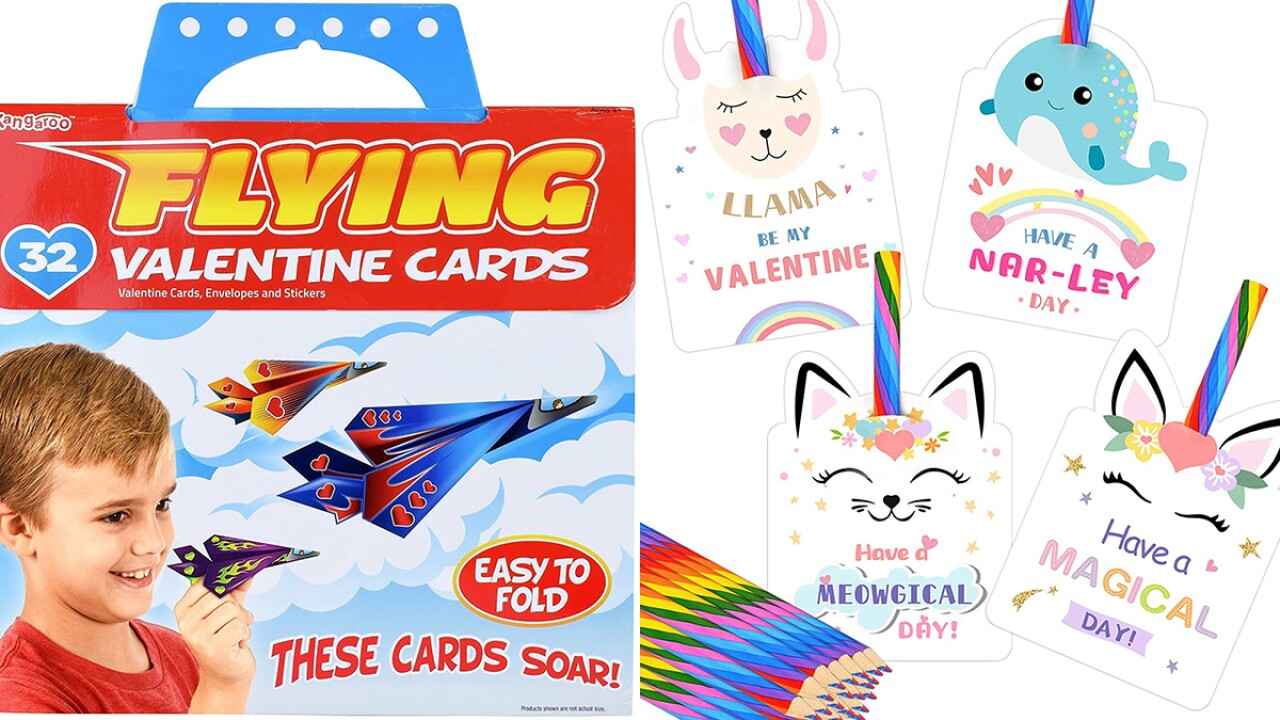 Best Valentine's Day cards for kids' school 2021