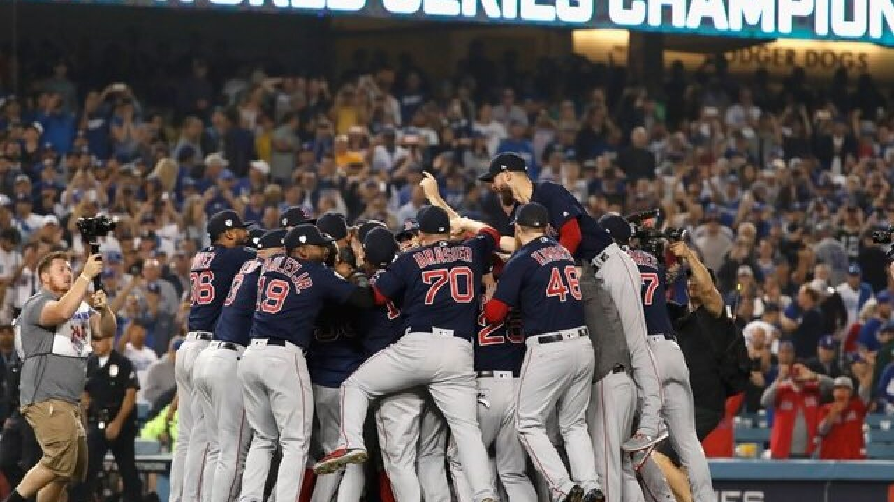 World Series champ Red Sox accept invitation to White House 66acb8f48