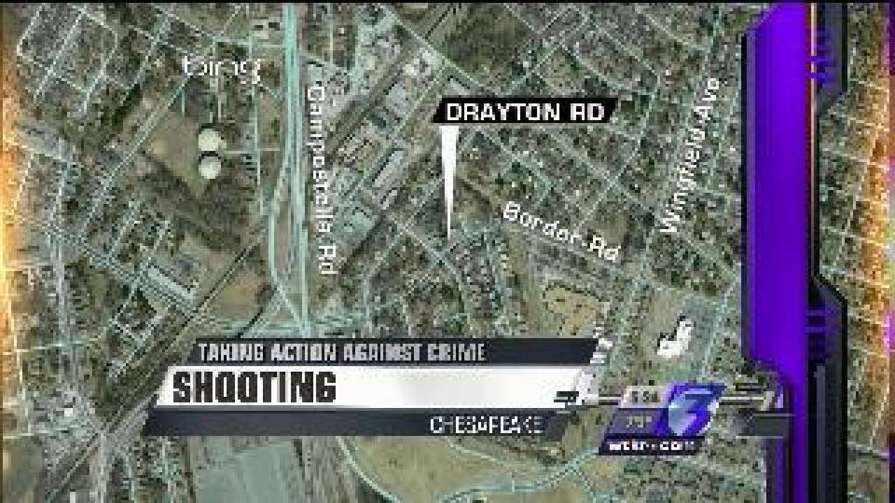 Man allegedly shot in Chesapeake while at party