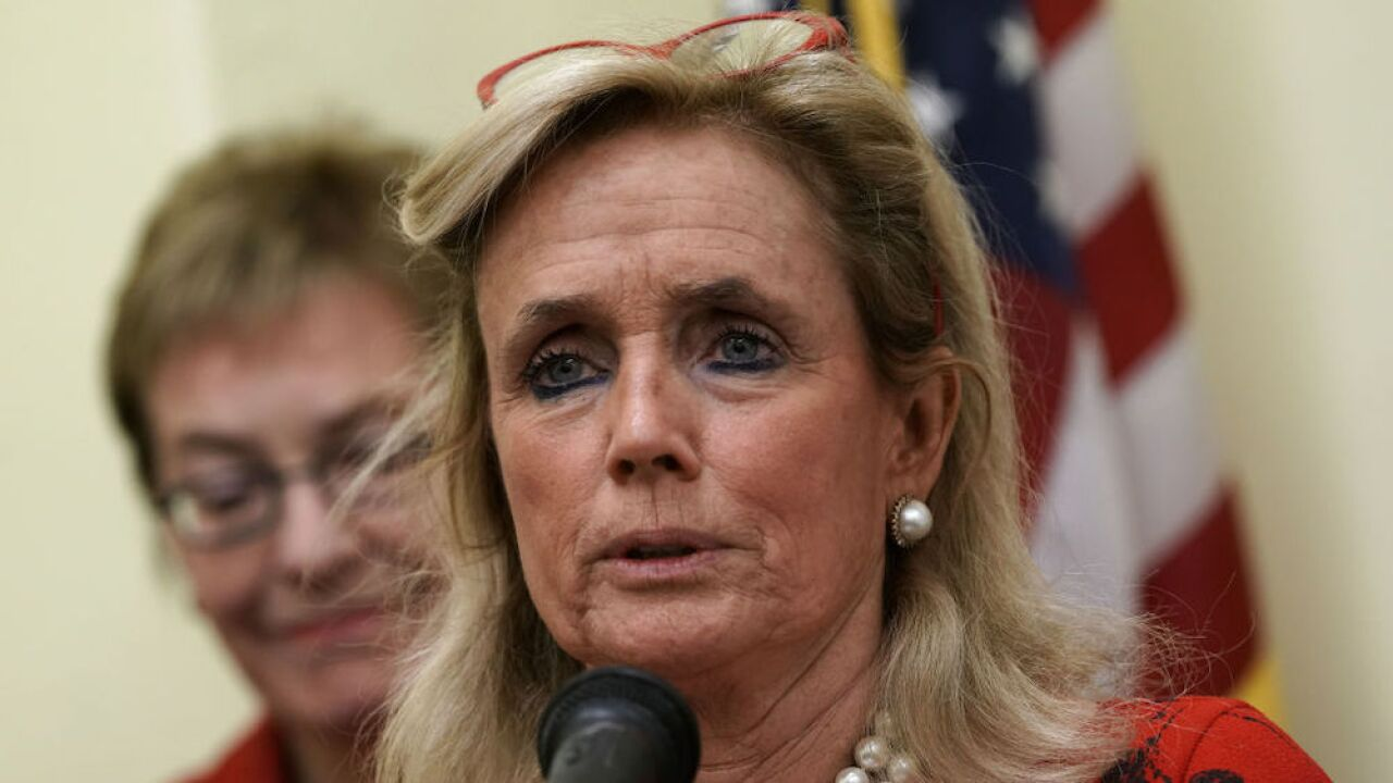 Rep. Debbie Dingell responds to Trump's comments that her husband is 'looking up' from hell