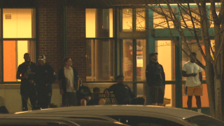 Massachusetts Pirates inside restaurant during shooting