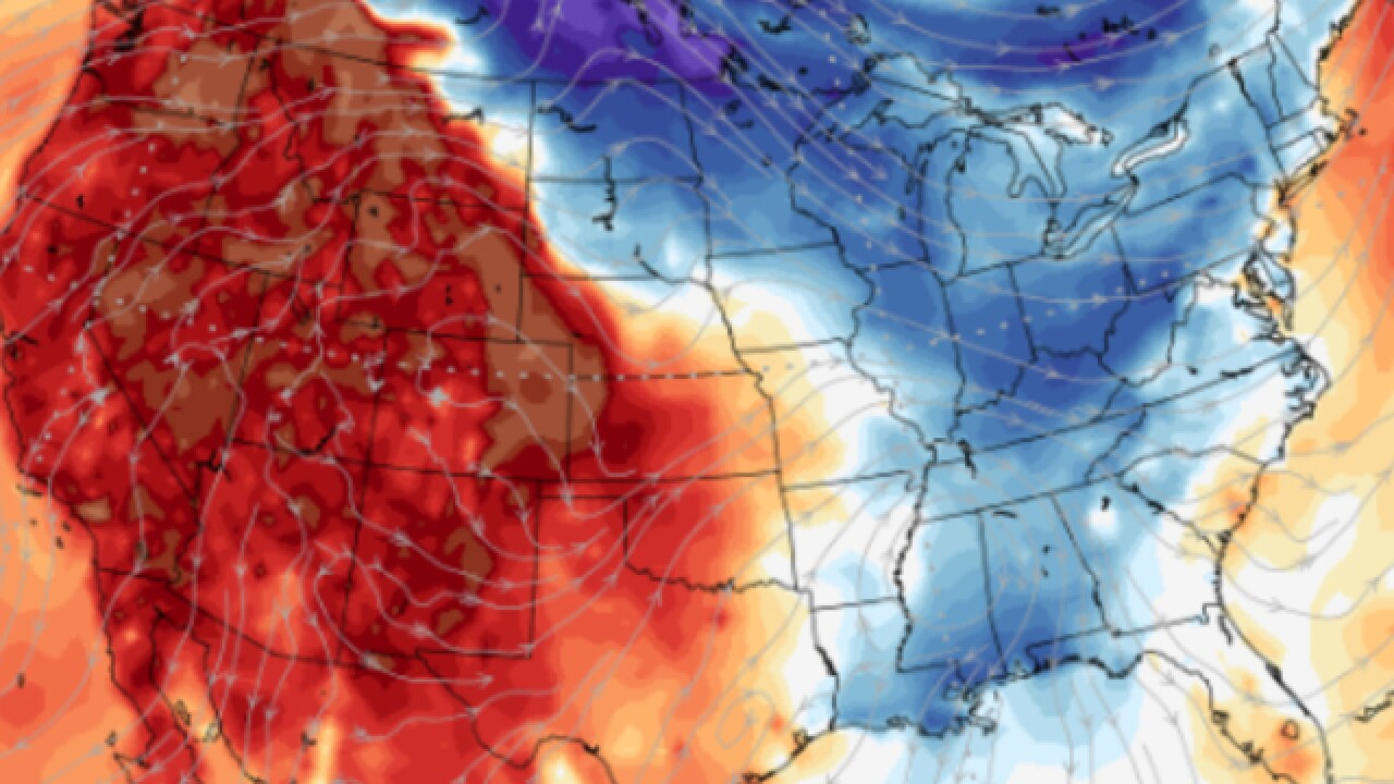 Thanksgiving forecast: Blast of cold air to invade East